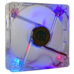 CASE FAN 120MM WITH 4 LED