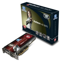 ATI SAPPHIRE HD 5870 PCI-E 1G DDR5 HDMI 7.1 SOUND VIDEO CARD