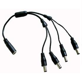 DC POWER SPLITTER CABLE 1 TO 4 SEC-ADP-1TO4