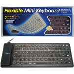 FLEXIBLE MINI KEYBOARD USB/PS2