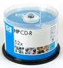 HP 52X 50PCs CD-R 80min 700Mb