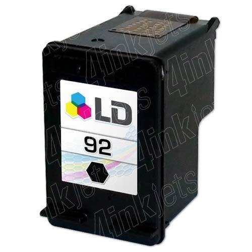 92 BLACK INK CARTRIDGE FOR HP PSC 1507/1510/5440 PRINTER