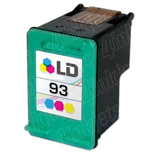 93 COLOR INK CARTRIDGE FOR HP PSC1510/7850/5440/4160 PRINTER