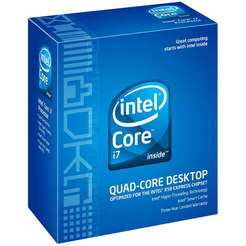 INTEL i7 950 QUAD CORE 3.06G 8M 4.8GT/S CPU (3 YEARS WARRANTY)