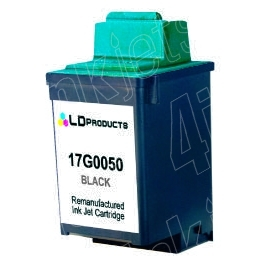 50 BLACK INK CARTRIDGE FOR LEXMARK/DELL PRINTER