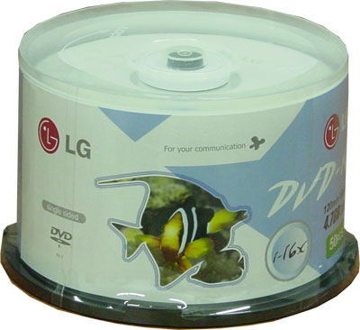 LG 16X DVD-R 50PCS BINDLE 4.7GB