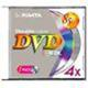 RIDATA 4X 8.5G DUAL LAYER DVD-R/DVD+R EACH