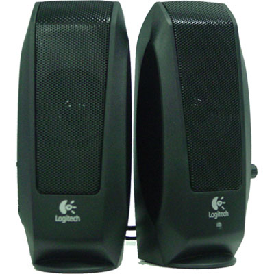LOGITECH S-120 MINI 2 PCS BLACK SPEAKER