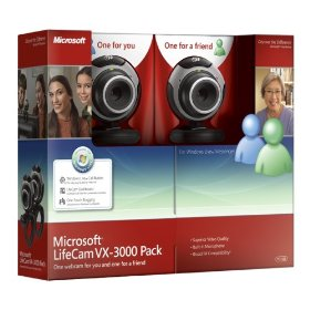 MICROSOFT LIFECAM VX-3000 PACK WEBCAM