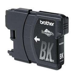 BROTHER LC61BK BLACK INK OEM CARTRIDGE