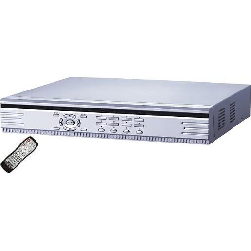 STAND ALONE DVR 4 CHANNEL W/REMOTE CONTROL WITH INTENET VIEW