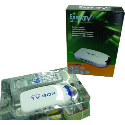 EASY TV USB2.0 EXTERNAL TV-TUNER WITH REMOTE CONTRAL