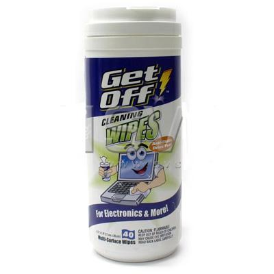 GET OFF CLEANING WIPES 40 MULTI-SURFACE