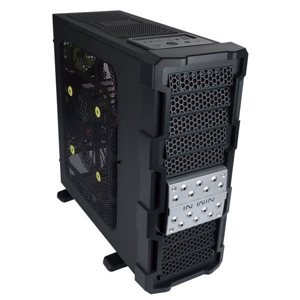 IN-WIN IRONCLAD GAMING FULL TOWER CASE WITHOUT PSU