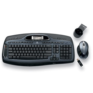 LOGITECH CORDLESS DESKTOP MX5000 LASER COMBO RETAIL BOX