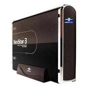 "VANTEC NEXSTAR3 3.5"" BLACK IDE HARD DRIVE ENCLOSURE"