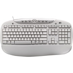 Logitech Office Pro white Keyboard