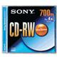 SONY 1-4X 700M CD-RW  RETAIL BOX
