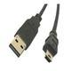 USB 06FT MINI 5 PIN CABLE (FOR SONY CANON DIGITAL CAMERA)