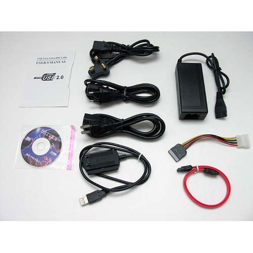 R-DRIVER III USB 2.0 TO SATA IDE CABLE BOXED